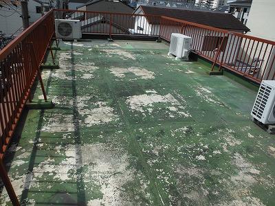屋上防水一例