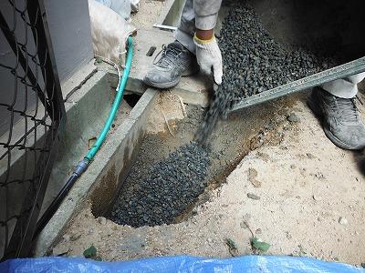 地盤改良側溝