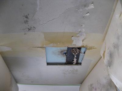 天井ボード漏水