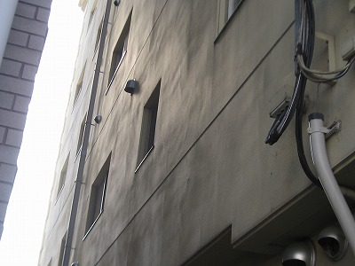建物外観漏水