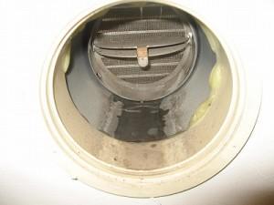 水漏れ排気口