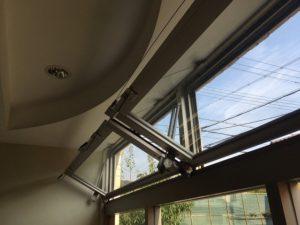 排煙窓修繕完了